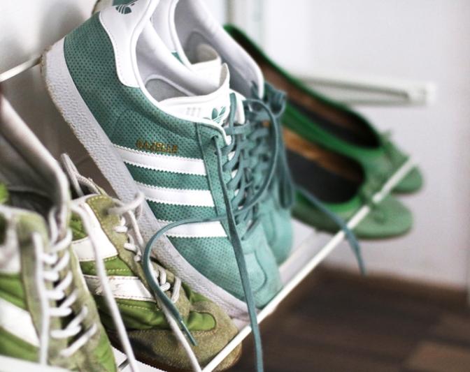 Meine grünen Schuhe - Schneidersitz