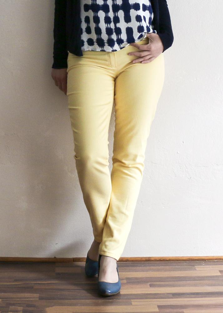 Ginger Jeans in Gelb - Closet Case Patterns - Schneidersitz
